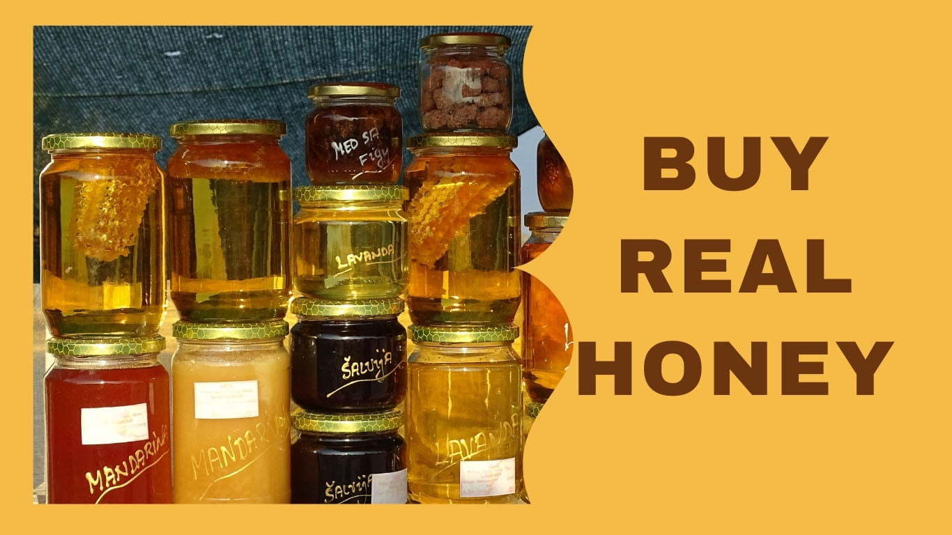 How to choose real honey